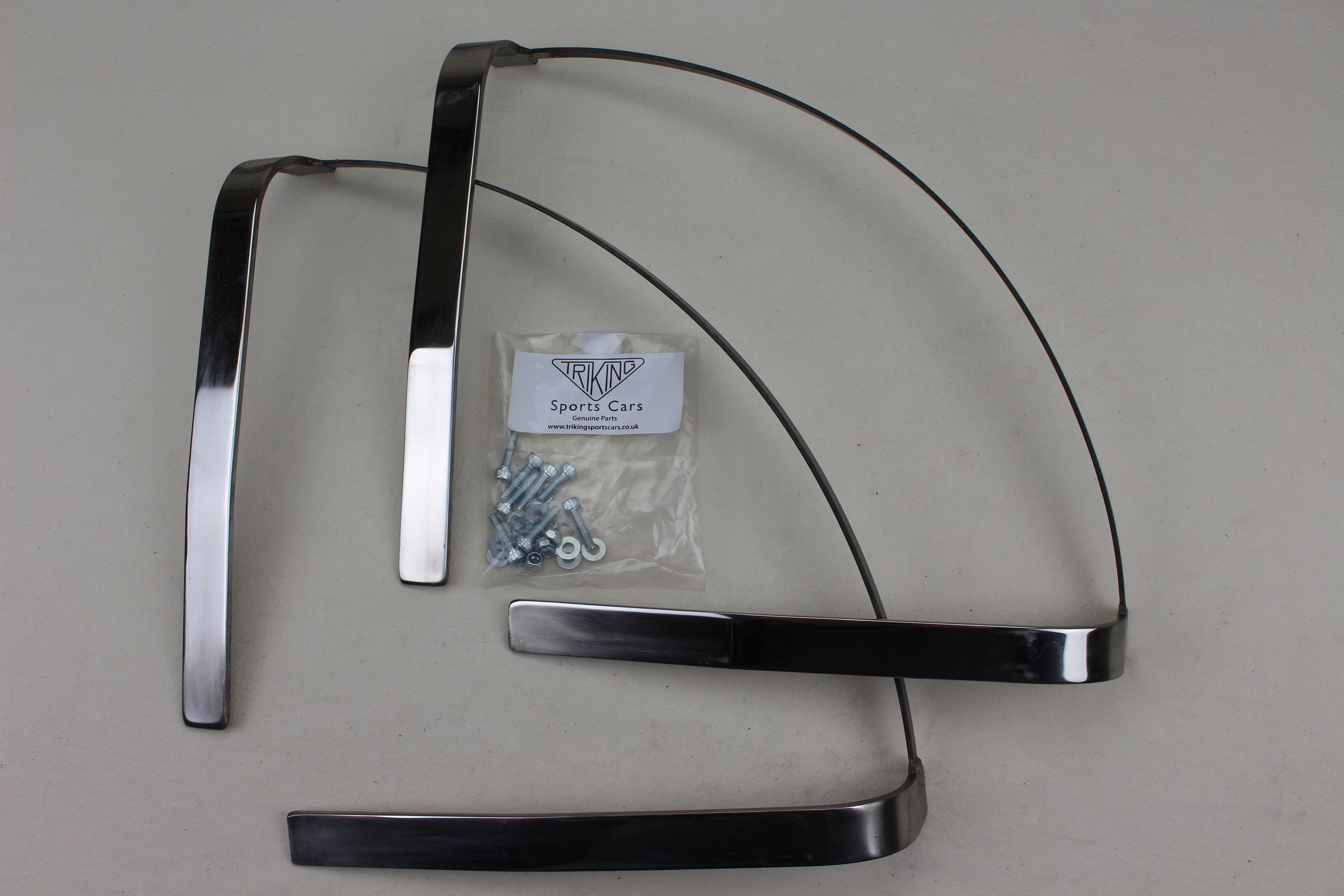 +880  Mudguard stay , Stainless steel, suits all triking models with cycle type mudguards,