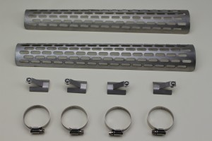 Exhaust heat shields, Stainless steel, Suits all Triking models