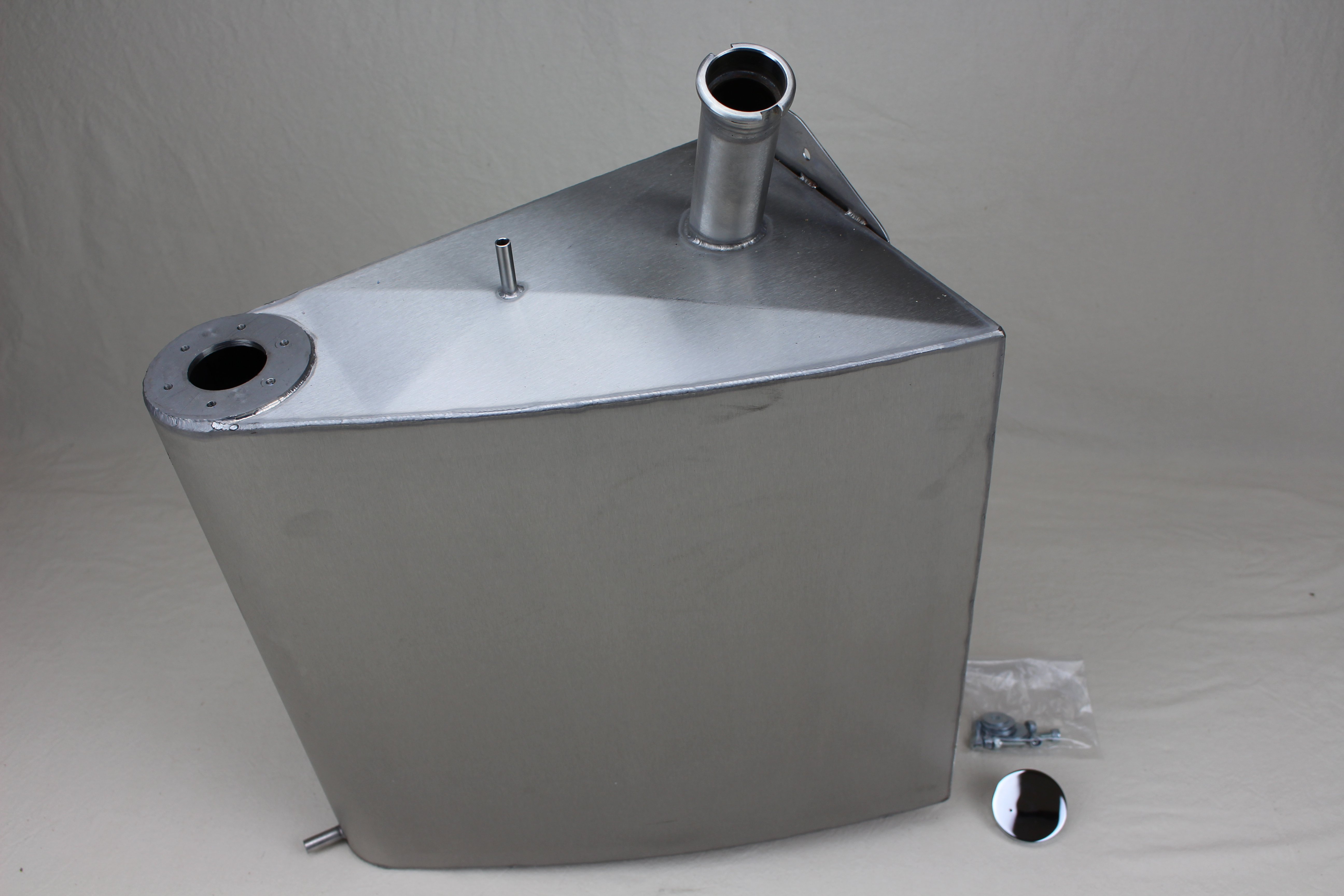 Fuel tank, Stainless steel, 27 Litre capacity, Adaptable for all Triking models.